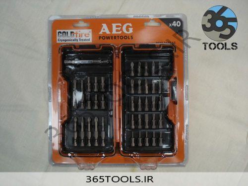 ست سر پیچ گوشتی AEG 40x